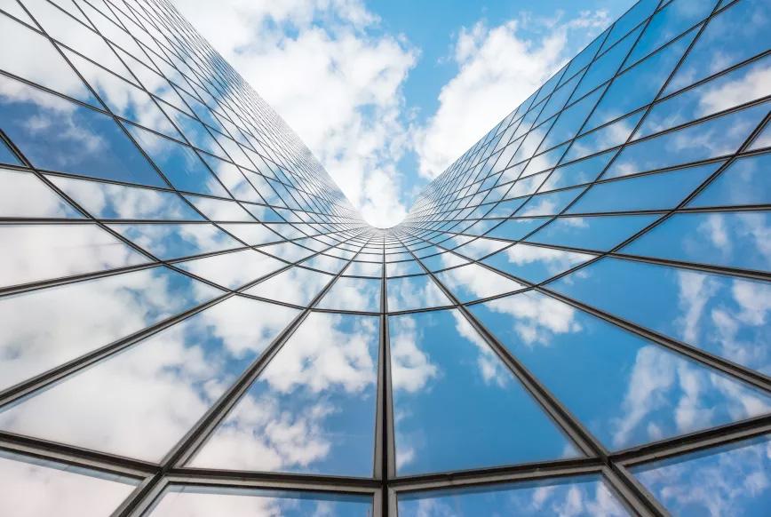 Fensterfolien verspiegelt für UV-Schutz, Sonnenschutz und Hitzeschutz